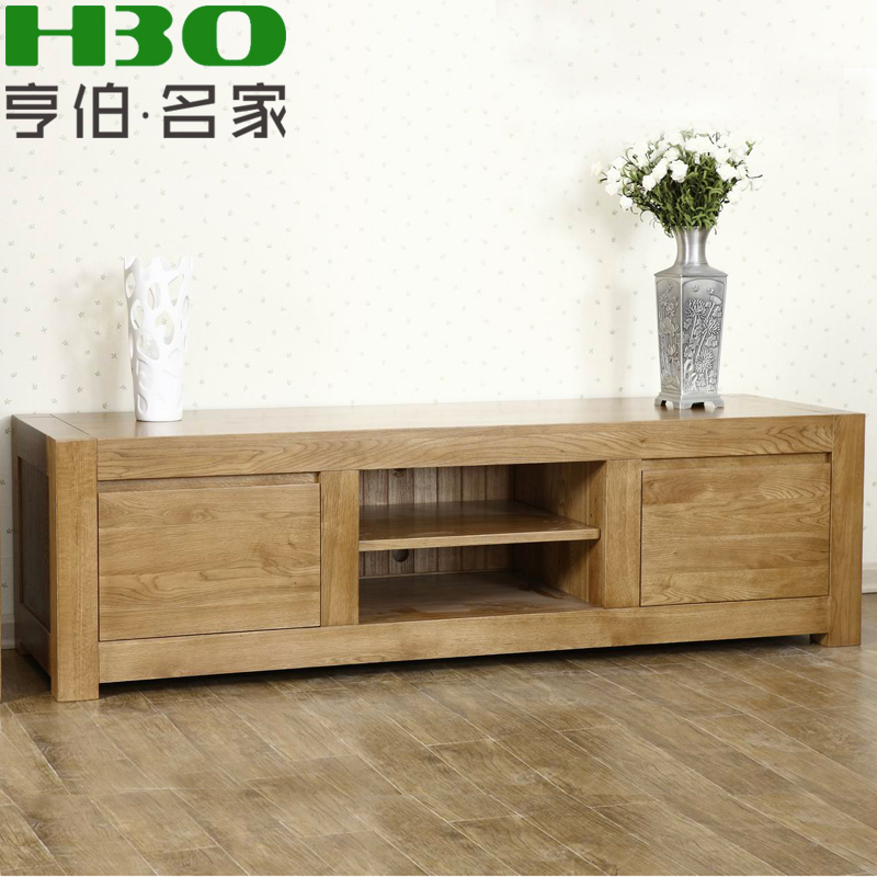 humber pur meubles en bois massif bois massif meuble tv minimaliste moderne salon combinaison. Black Bedroom Furniture Sets. Home Design Ideas