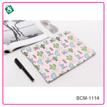 Fashion cactus design girls' cosmetic bags