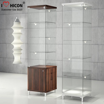 Movable Wholesale Cheap Sliding Door Glass Jewellery Display ...