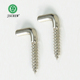 Customized size self tapping l shaped hook screw