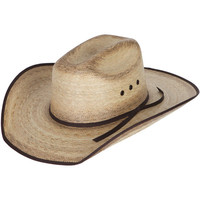 Atwood Firecracker Palm Leaf Cowboy Hat