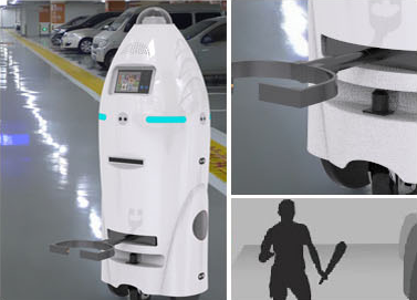 Fast Auto-charging Intelligent Security Robot XW Series