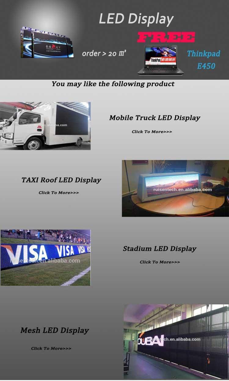 Full Color P2.5 P3 P4 P5 P6 P10 Outdoor Indoor LED Screen