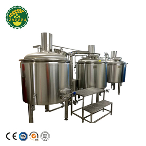 Cooling Jacket 1000L Small Sized Beer Brewing System