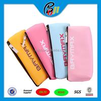 2016 Custom Promotional Colorful Cute school Pencil Case