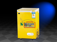 12SL stand upright vertical chilling cooler Mini deep freezer refrigerating display showcase for popsicle & ice cream ice locker