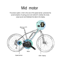 Bafang 8fun high quality G31 BBS01 BBS02 250W/500W/700W mid Central Drive EBIKE Motor Conversion Kit for Electric Bike Bicycle