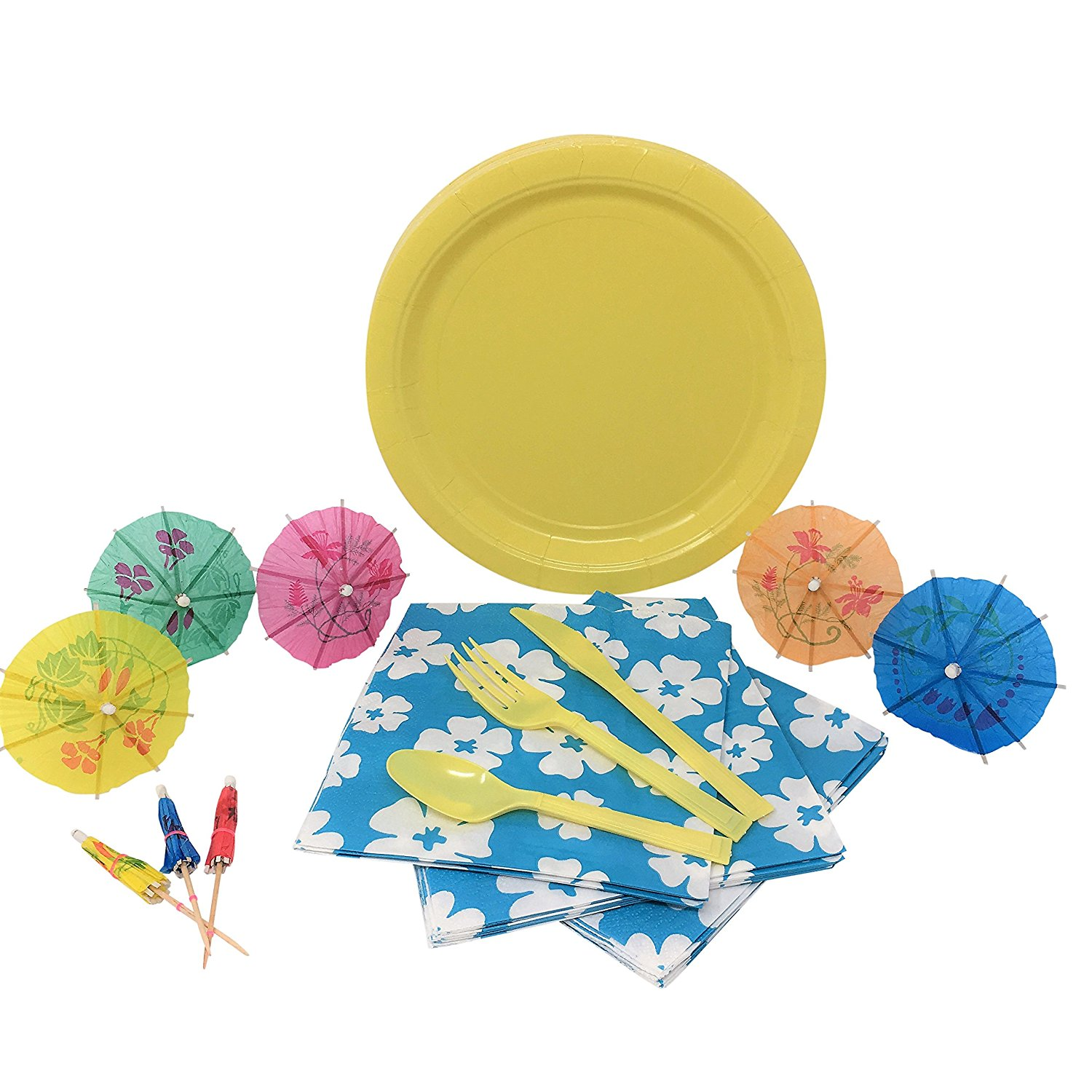 Get Quotations · Luau Party Supplies Bundle for 16 Paper Plates Napkins Drink Umbrellas and Plastic  sc 1 st  Alibaba & Cheap Party Supplies Luau find Party Supplies Luau deals on line at ...