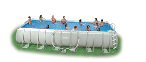 Best china canvas swimming pool, pvc floating swimming pool, non inflatable pool