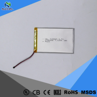 3.7V 1700mAh high capacity LiCoO2 rechargeable lithium polymer battery