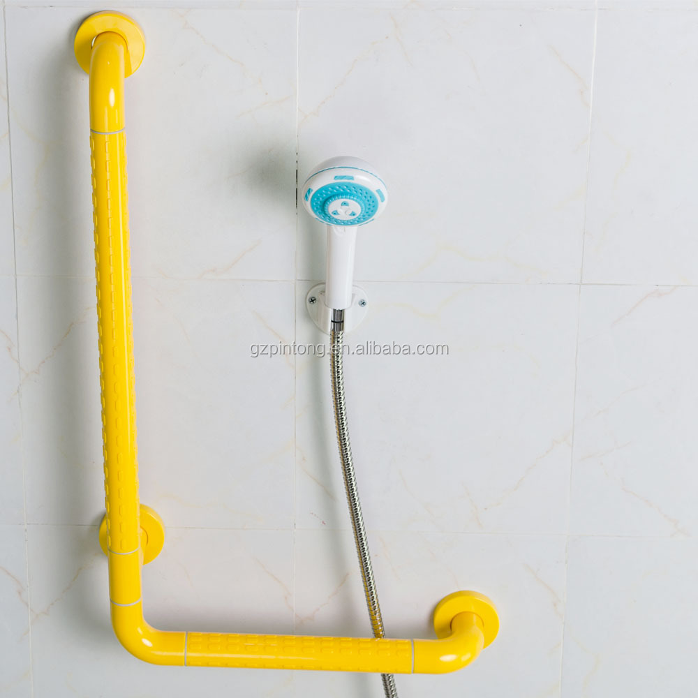 badezimmer wand l geformte nylon haltegriffe f r behinderte handgriff produkt id 60584119365. Black Bedroom Furniture Sets. Home Design Ideas