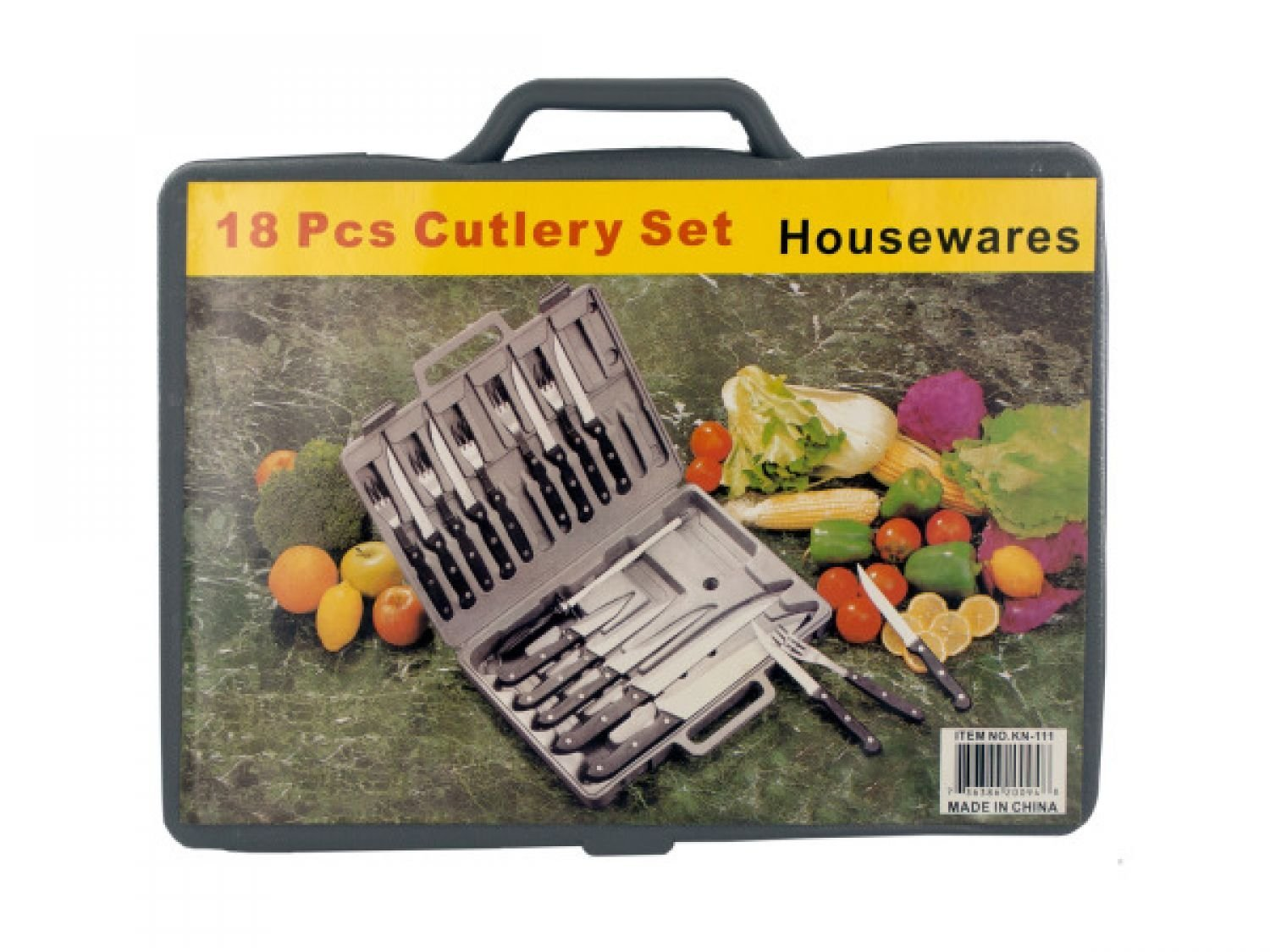 Cutlery Set In Carrying Case - Set of 4, [Kitchen & Dining, Cutlery]
