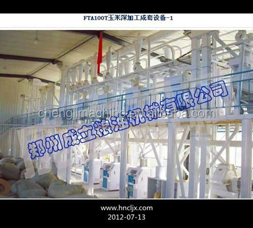 labor saving Automatic ISO BV Certified corn flour making machine