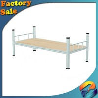 High quality Factory direct Export Sofa Bed Hotel Metal Bed/Bedroom furniture folding simple metal steel single bed