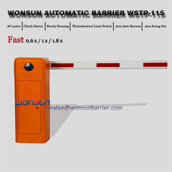 Heavy Duty Automatic Boom Barrier Gate Price For Vehicle