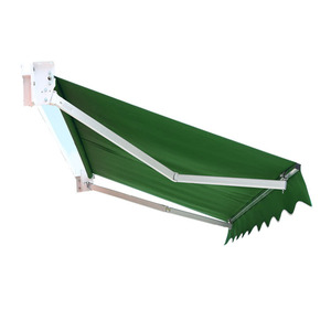 Balcony Sun Rain Protect Electrical Folding System Retractable Awning With Wind Sensor