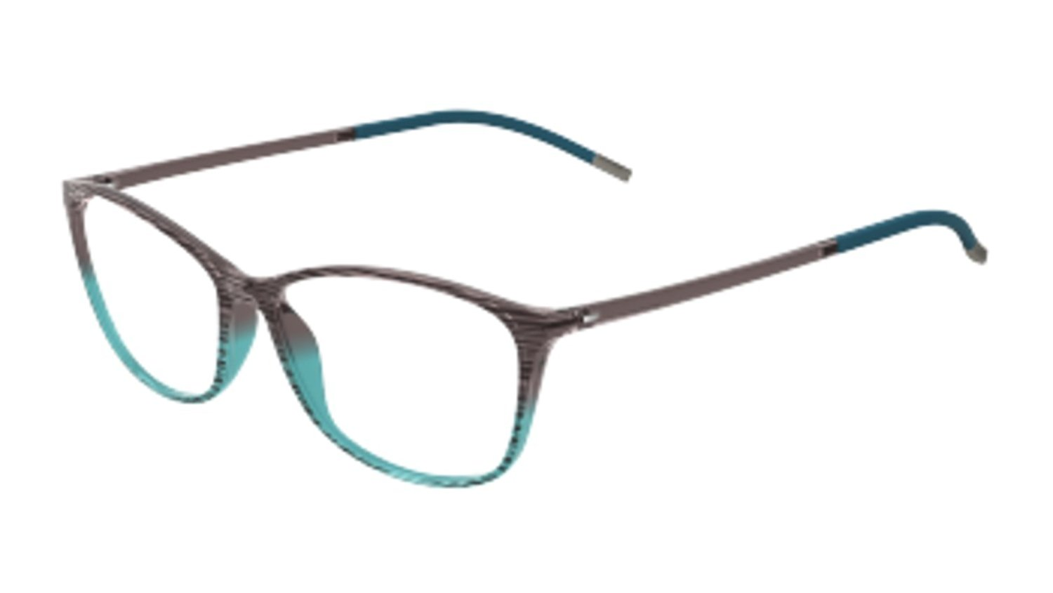 6ee7b2475c3 Get Quotations · Silhouette Eyeglasses SPX Illusion 1563 6052 Mint Grad  Optical Frame 53x14x130