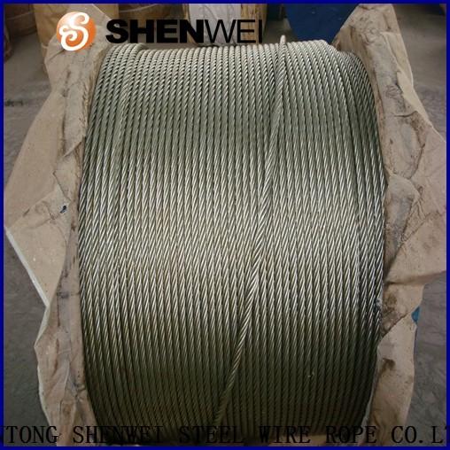 Din En Gb/t Standard 6*25fi Zinc Galvanized Steel Wire Rope With ...