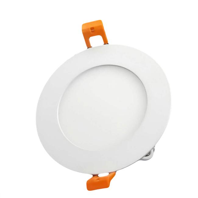 Pabrik Harga Rendah AC85-265V 3W 4W 6W Putaran LED Flat Panel Pencahayaan Lampu Langit-langit