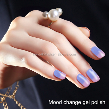 Ice Cream Color Mood Change Uv Gel Nail Polish Private Label Manufacturers