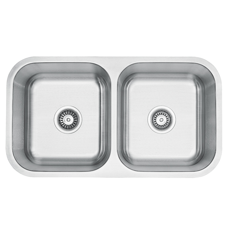 High-Grade Double Bowl Large Size Stainless Steel Sink for Kitchen