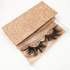 Private label real mink lashes cruelty-free 3D mink eyelashes vendor