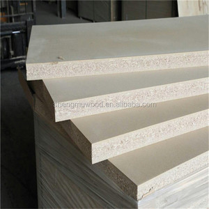 wooden color and white melamine particle board doors from Linyi