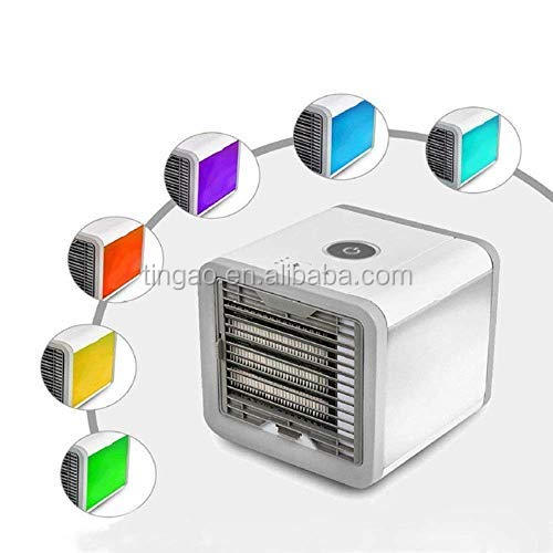 Portable Personal Space Cooler Quick &Easy Way to Cool Air Conditioner Micro USB Refrigeration Humidification