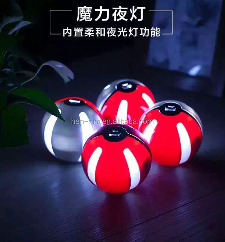 Pokemon Go&Pokeball Round Mobile Charger