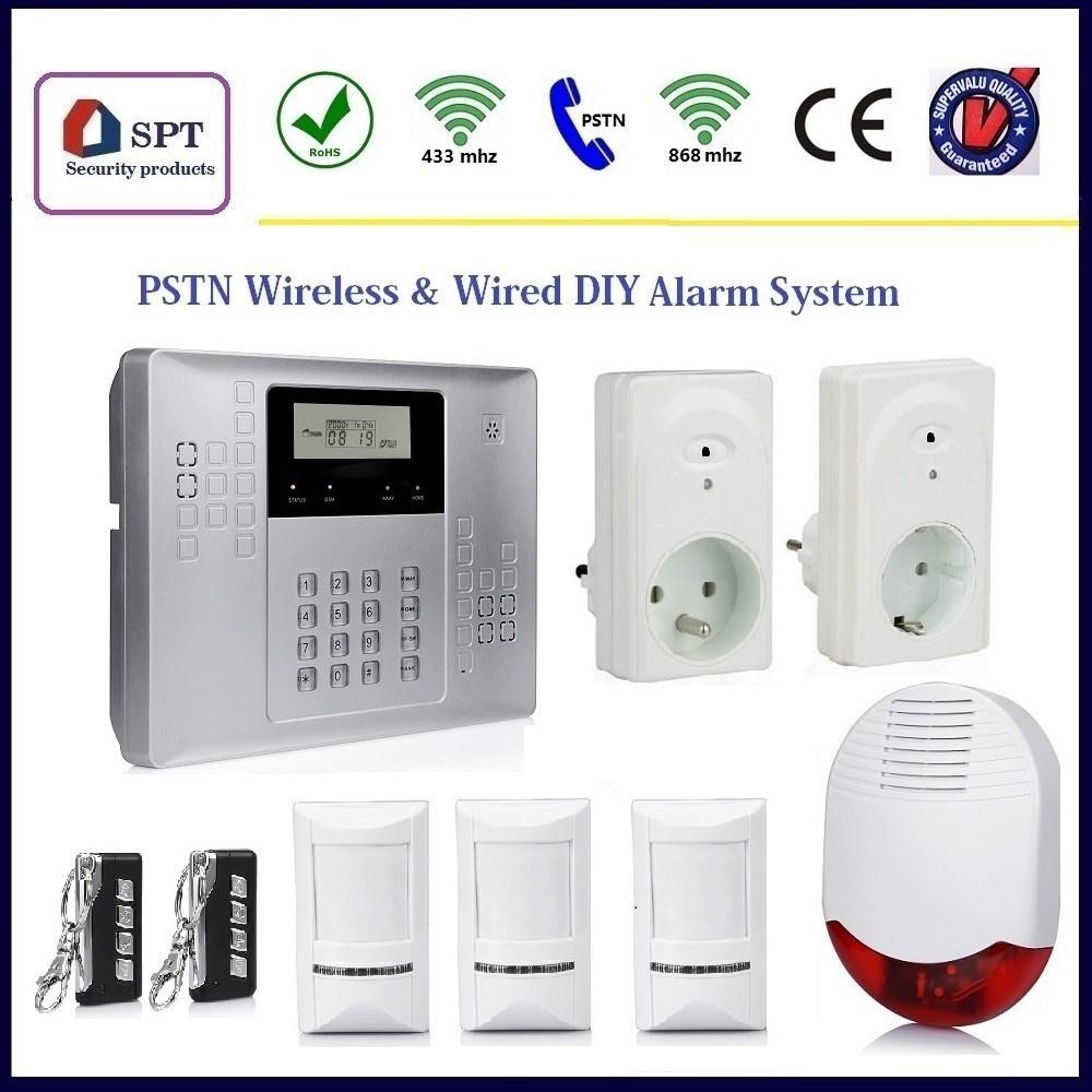 Cp-21b 32 Zone Wireless Burglar Alarm System,Battery Low Voltage ...
