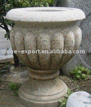 G682 granito maceta maceta olla de piedra piedra del - Macetas de piedra para jardin ...