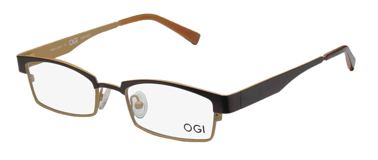 ad82ac661a Get Quotations · Ogi 4025 Mens Womens Designer Full-rim  Eyeglasses Spectacles