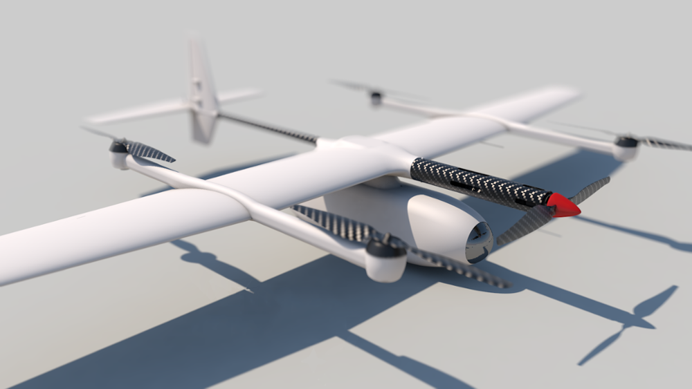 Unmanned Aerial Vehicle Fixed Wing UAV Mapping Drones Long Fly Time