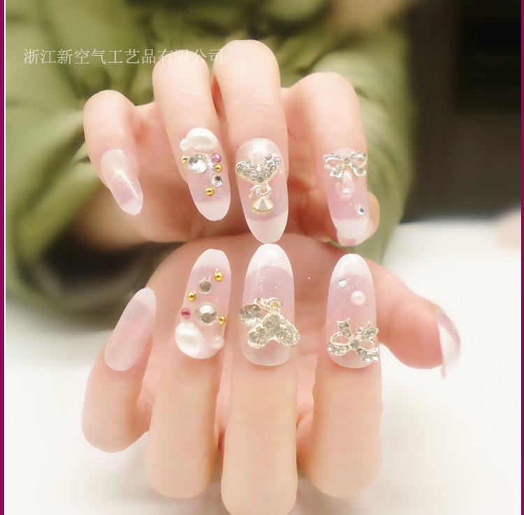 Venta al por mayor uñas decoradas para niñas-Compre online los ...