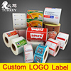 white label barcode sticker printable Color logo label paper roll Self Adhesive label manufacturer accept trust assurance