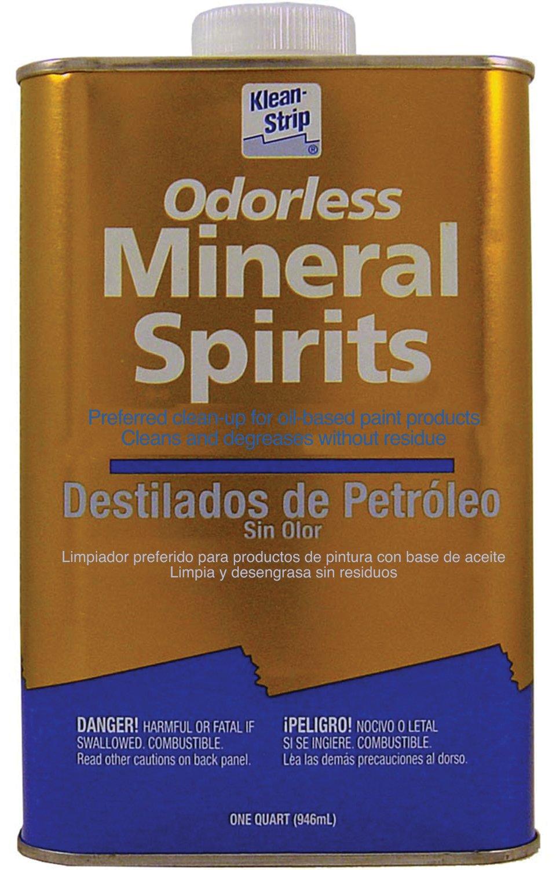 Substitute for mineral spirits dirt devil pet vacuum