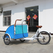 trishaw vehicle cargo bike tricycle drawn by man manufacturer company