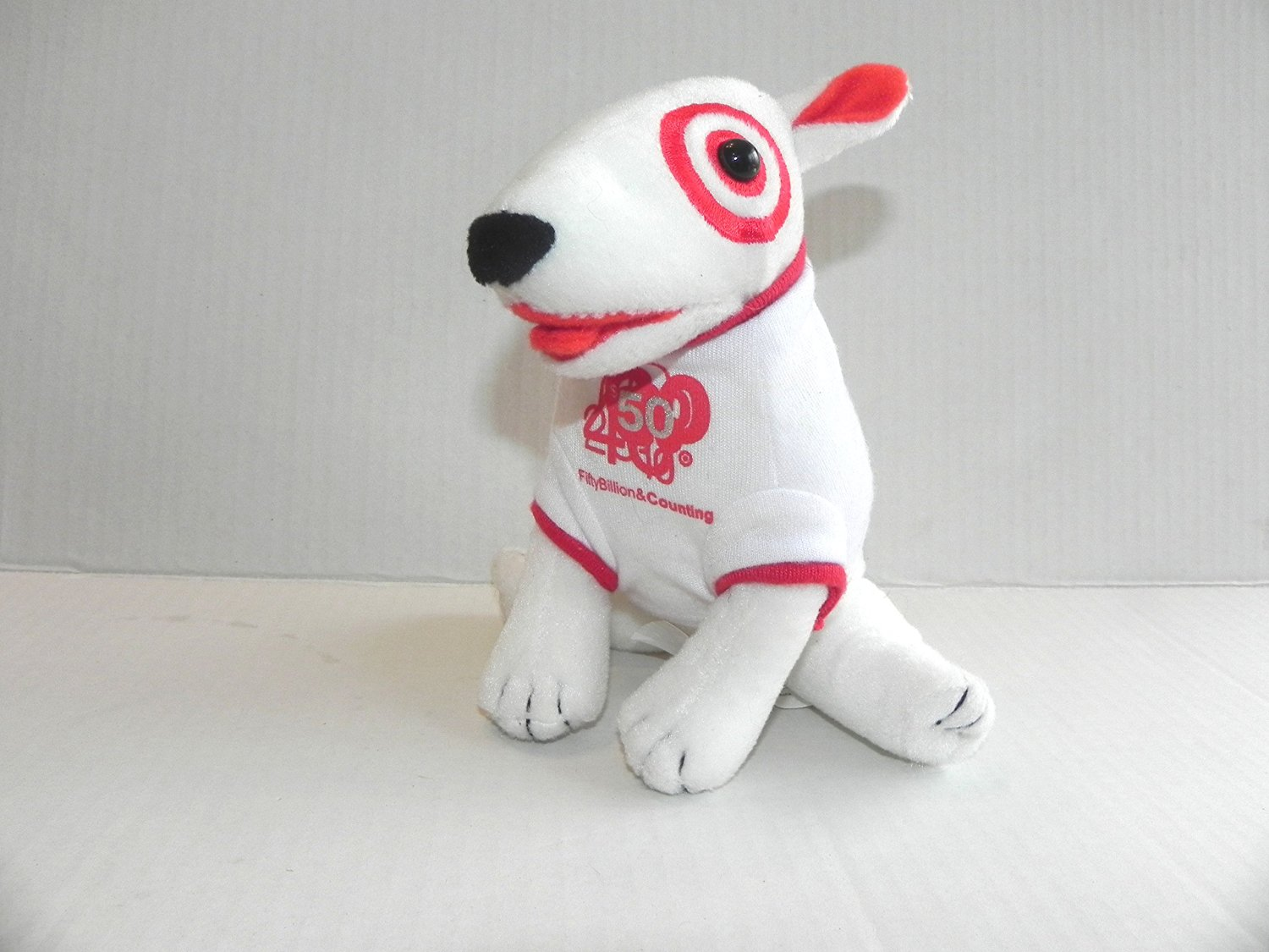 Get Quotations TARGET 50 Billion Counting BULLSEYE Plush Dog LE 2005