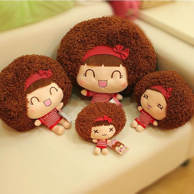 "1pcs 8"" 20cm Genuine mocmoc moss baby <strong>doll</strong> plush toys creative cloth <strong>dolls</strong> cute girl mocmoc car a birthday present"