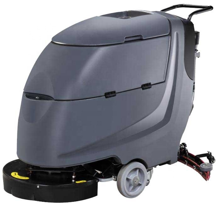 Automatische floor cleaning machine voor school