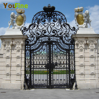 factory supply beautiful modern house iron gate design buy modern rh alibaba com modern house gates and fences designs philippines modern house gates and fences designs philippines