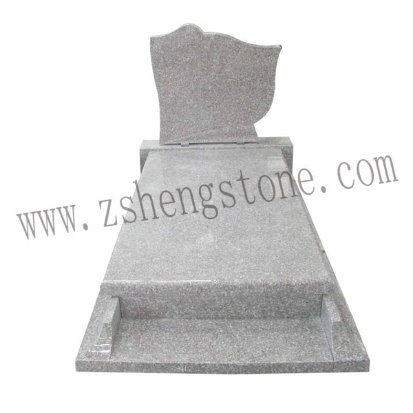 white marble granite tombstone headstone