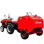 Grass Silage baler packing machine, Silage rice straw round bundling machine/corn round baler/ hay baler