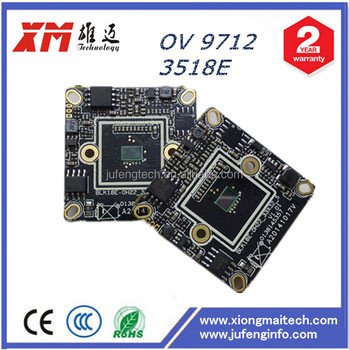 720P CMOS Onivf IP module H.264 his 3518e camera board suppliers