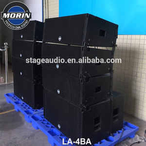 Professional Dual 15 Inch Active Line Array Sound Systems Subwoofer Speaker With RMS 1200w For Stage,Stadium,Moving Performance