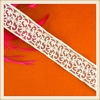 2015 New fashion embroidery cotton lace trim/ lace Ribbon