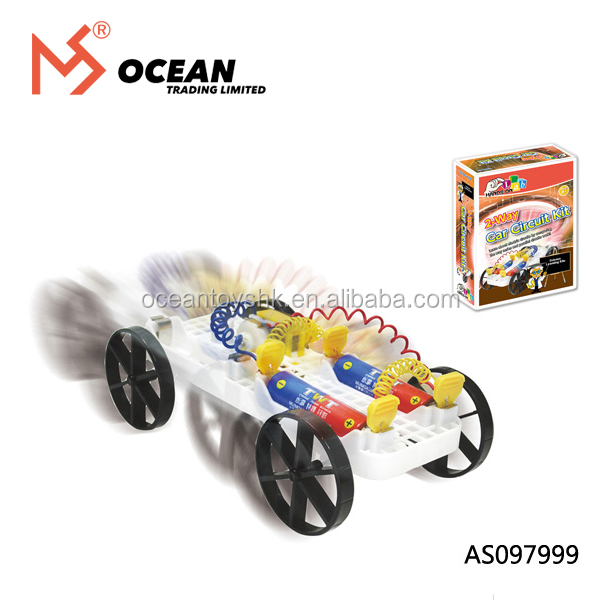 Educational toys DIY car science and experiment toy for children
