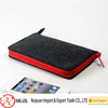 New felt mobile phone case portable soft handmade phone bag