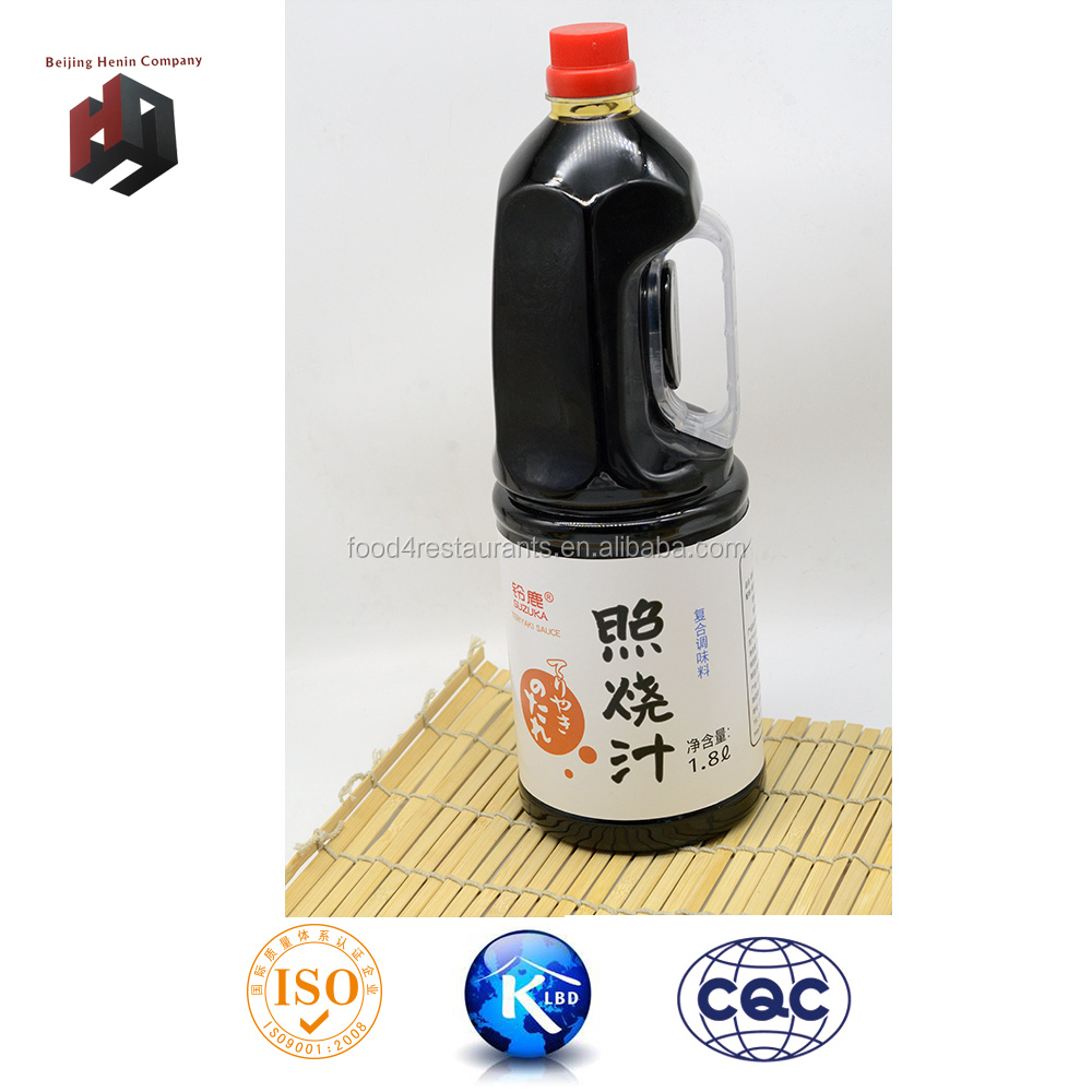BBQ sauce , Japanese style recipes, 1.8L teriyaki sauce