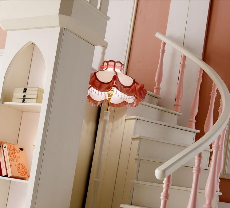 2017 princesse chambre meubles derni re conception royal - Lit chateau pour petite fille ...